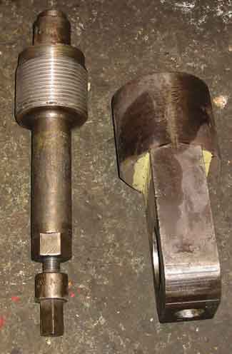 Crosshead splitting tool
